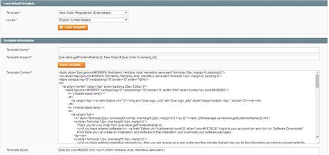 extendware custom order status email templates magento