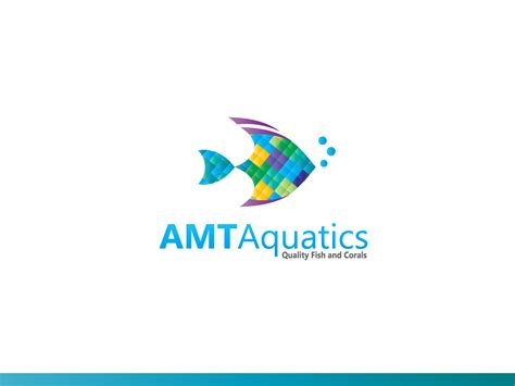 logo design description 35 colorful upmarket logo designs for amt aquatics