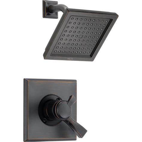 Delta Dryden Shower Trim by Delta Dryden 1 Handle Shower Only Faucet Trim Kit In Venetian Bronze Valve Not Included T17251