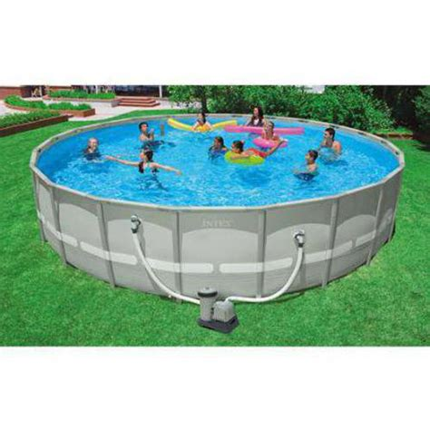 backyard pools walmart intex 22 x 52 quot ultra frame swimming pool walmart com