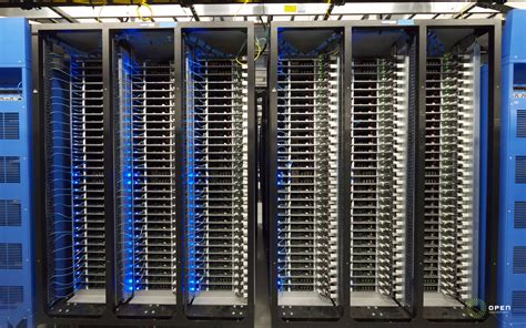 Rack In Data Center by Open Sources Custom Server And Data Center