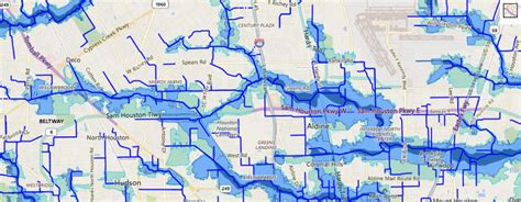 harris county texas flood maps harris county flood education tool shows areas to during storms
