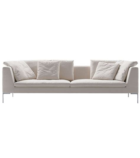 b and b italia sofa charles large sofa b b italia milia shop