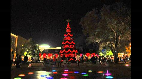 the woodlands texas christmas tree 2012 youtube