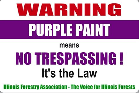 purple paint law heartland outdoors
