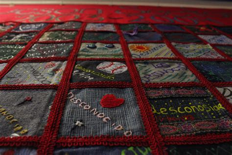story quilt book report border deaths honored one story at a time through