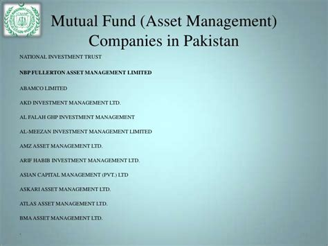 Mba In Construction Management In Pakistan by Presentation On Funds In Pakistan