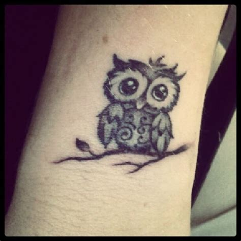 small simple owl tattoos owl tattoos owl tattoos are popular here are