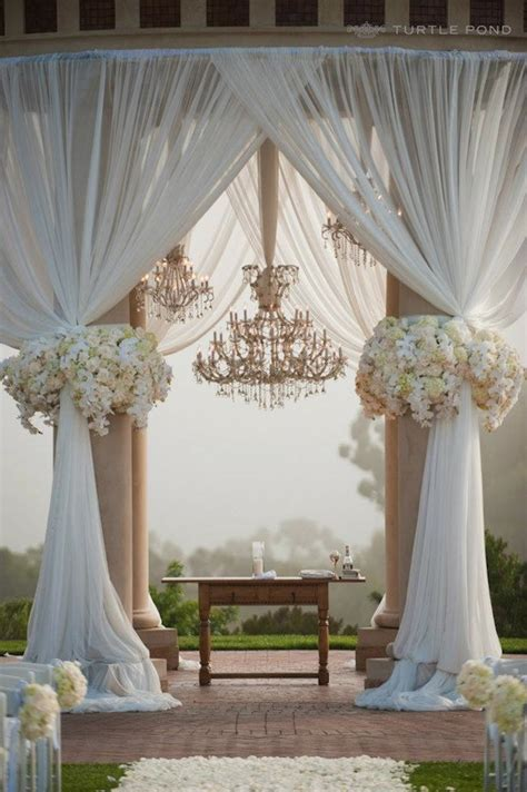 chandeliers and outdoor weddings the magazine