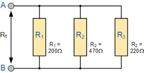 resistor in parallel with open circuit resistors in parallel parallel connected resistors