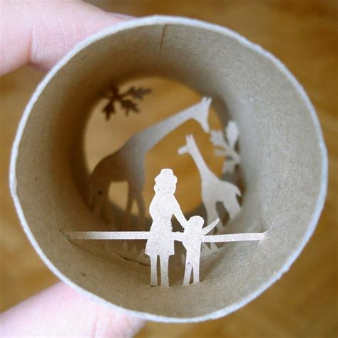 Arts And Crafts Using Toilet Paper Rolls - toilet roll paper crafts gadgetsin