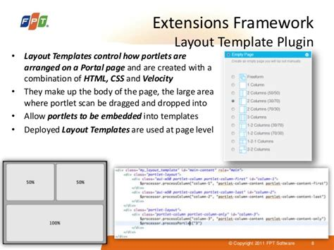 liferay layout template css liferay portal introduction