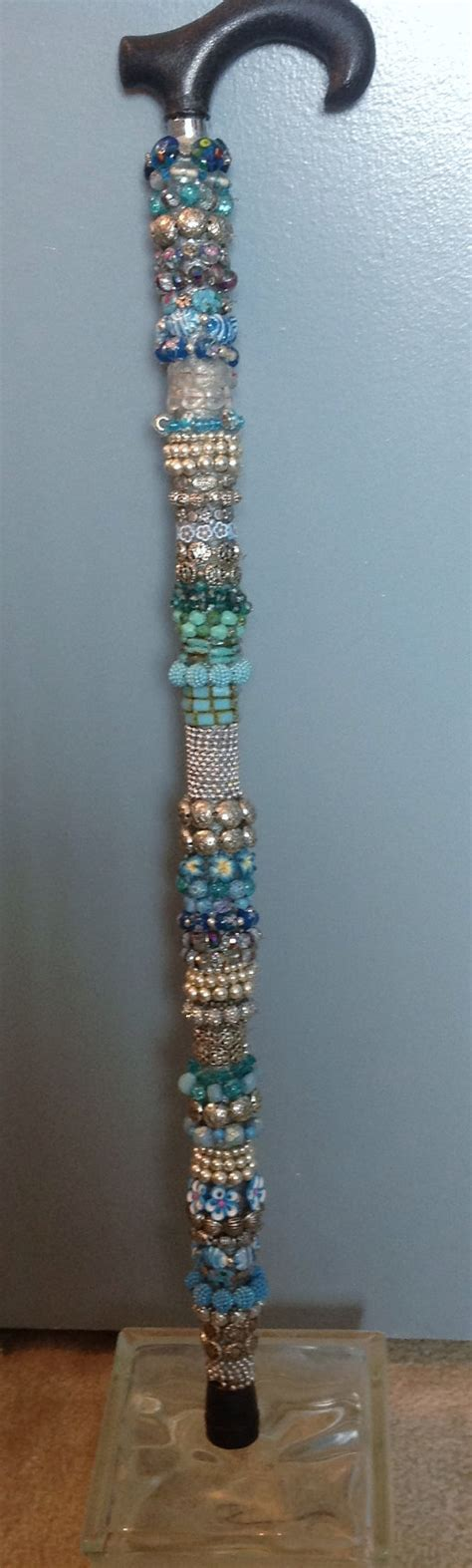 Decorative Canes by Decorative Beaded And Walking Stick My9