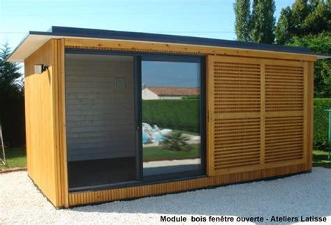 Module Bois En Kit by Module Bois Ind 233 Pendant Pour Extension Dans Le Jardin