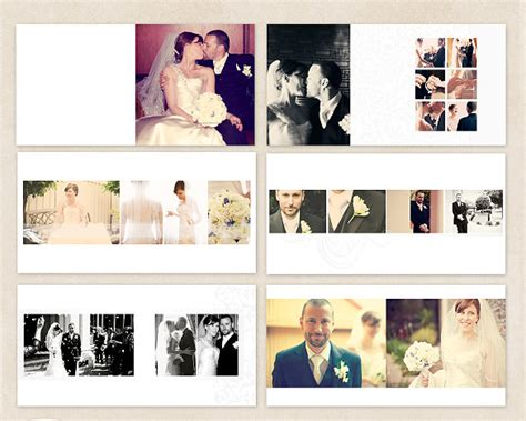 wedding album template 41 free psd vector eps format - Wedding Album Free Templates