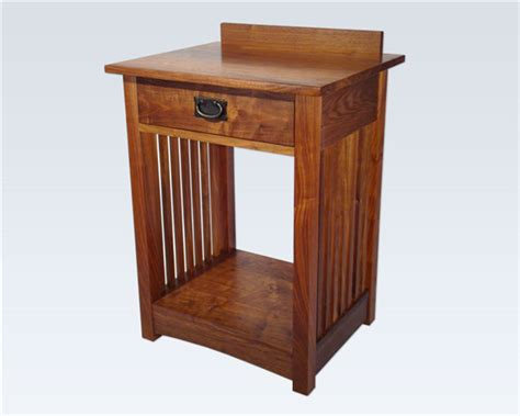 mission style bedside table mission nightstands craftsman nightstands and bedside