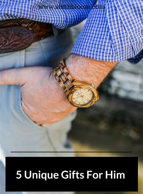unique gifts for him 5 unique gift ideas for him sixth bloom lifestyle