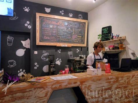 Black Coffee Yogyakarta cats and coffee jogja yogya gudegnet