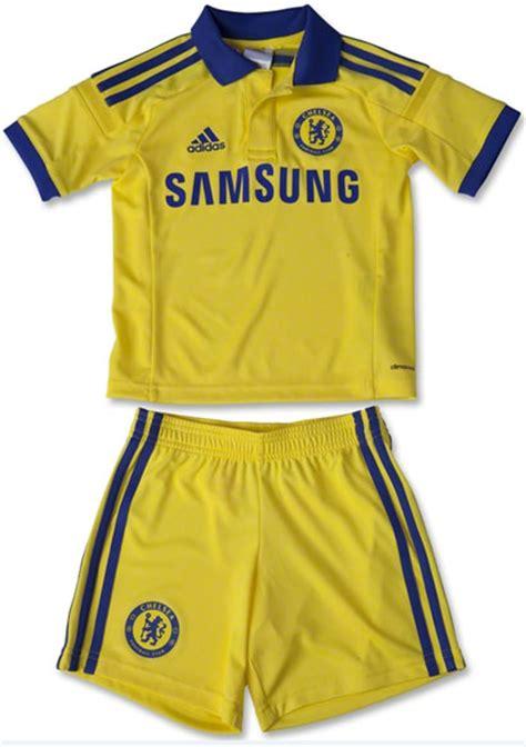 Baju Bola Berkerah Jersey Chelsea Away 2014 2015 Big Match Jersey