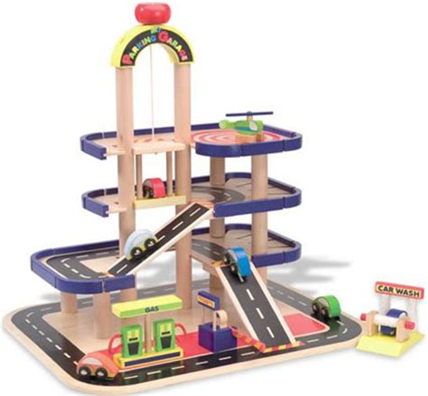 Wooden Garage For Toddlers by Parking Garage By Alex Toys Wood Accessories