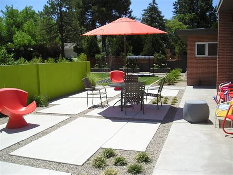 modern backyard ideas modern landscaping albuquerque nm photo gallery