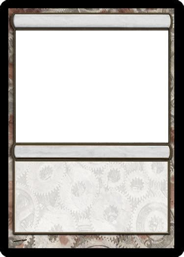 Blank Magic The Gathering Card Template by Blank Magic Card Template Professional Templates For You