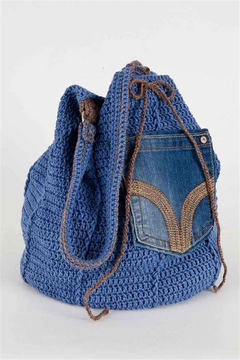 jeans handbag pattern denim bag denim bag patterns and crochet patterns on