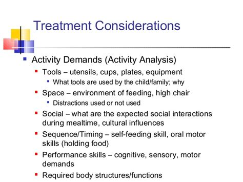 Njota Current Trends In Pediatric Feeding Activity Analysis Occupational Therapy Template