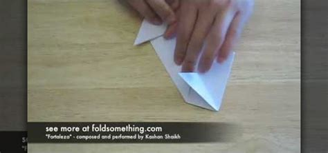 How To Fold Paper Cool - how to fold an origami spaceship 171 origami wonderhowto