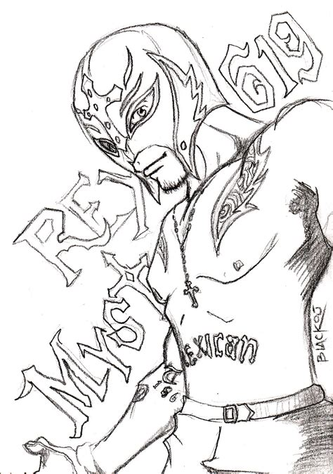Sin Cara And Rey Mysterio Coloring Pages Coloring Pages Cara And Mysterio Coloring Pages