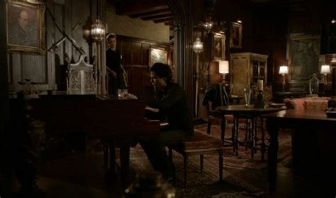 x diaries mission haus inside damon stefan house mystic falls house