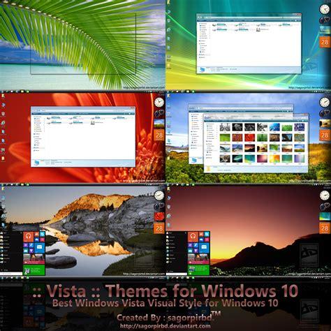 yosemite dark theme for windows 10 rtm vista themes for windows 10 rtm by sagorpirbd on deviantart