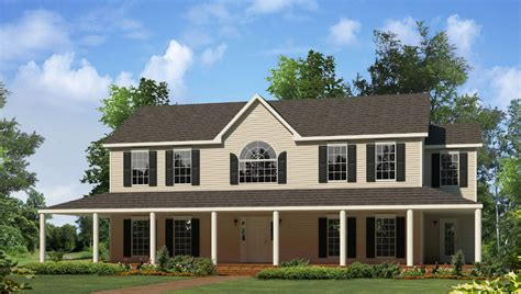 Modular Duplex House Plans by Montgomery Two Story Style Modular Homes