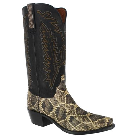 rattlesnake boots bootbarn lucchese s eastern rattle snake western boots
