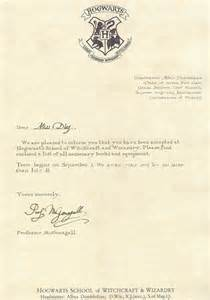 Letter From Hogwarts Template by Hogwarts Acceptance Letter Template Great Printable