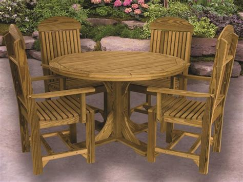 Pine Patio Furniture Furniture Gt Dining Room Furniture Gt Dining Table Gt Amish Dining Table