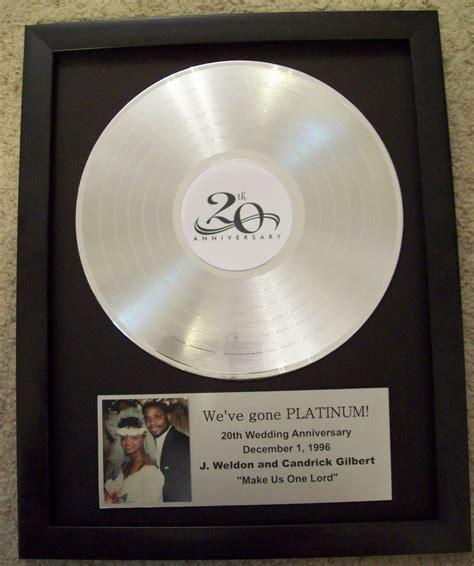 Platinum/Silver Plated LP Trophy