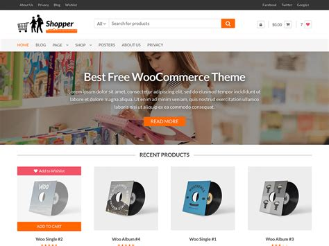themes wordpress woocommerce free theme directory free wordpress themes