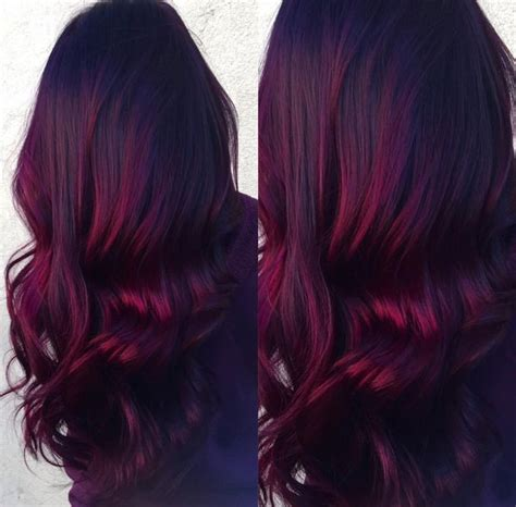 how does purple shoo work on recent highlights 25 best red balayage ideas on pinterest dark red