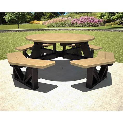 commercial picnic tables and benches commercial picnic benches large octagon picnic table