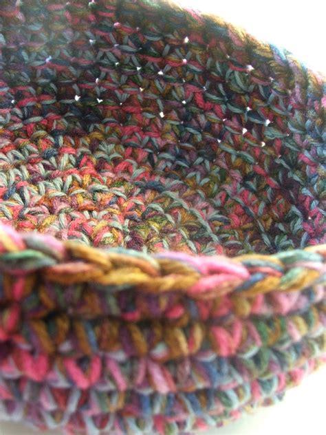 crochet pattern yarn bowl susan s hippie crochet free chunky crocheted bowl pattern