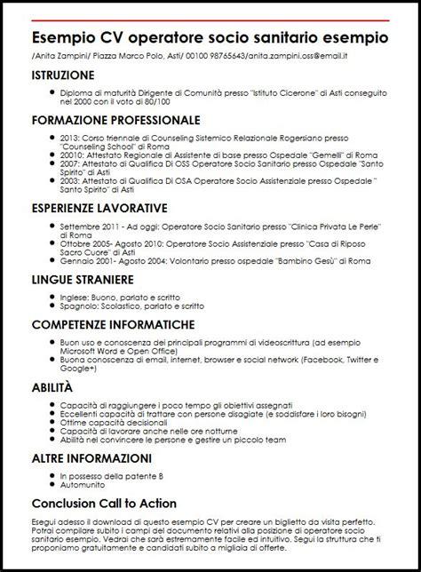 Curriculum Vitae Formato Europeo Openoffice Modello Curriculum Vitae Openoffice Curriculum Vitae 2018