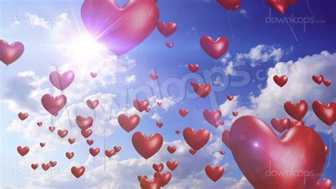 Wedding Stop Motion Animation by Balloons And Wedding Motion Background