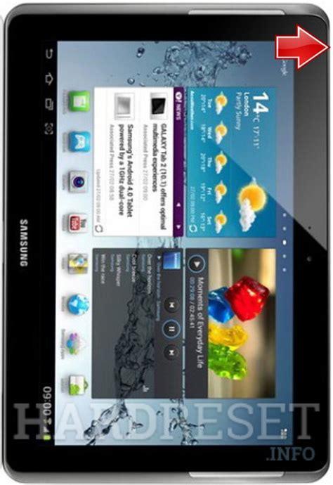 reset samsung tablet 2 hard reset samsung p5110 galaxy tab 2 10 1 dk hard reset