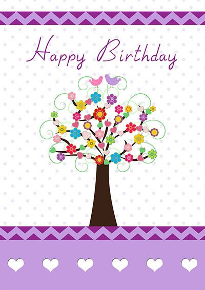 printable birthday cards   fun