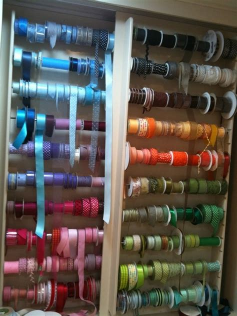 7 Ribbon Rack by 10 Best Images About Organize The Shop On