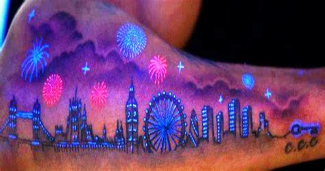 uv ink blacklight tattoo designs absolutely badass uv