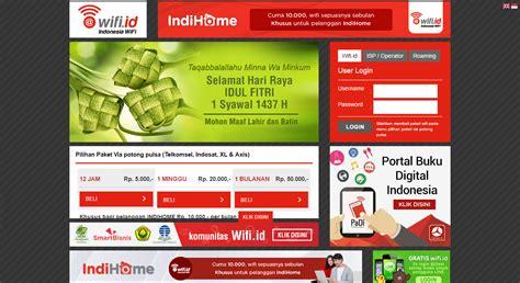 Wifi Dan Paketnya cara daftar wifi id untuk kartu telkomsel indosat xl