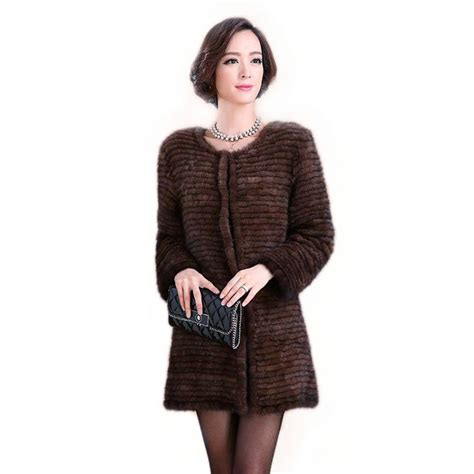 mink knitted jackets popular knitted mink fur coat jacket authentic style