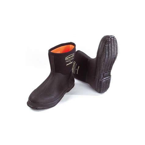 just togs mudrucker mid boot black at burnhills